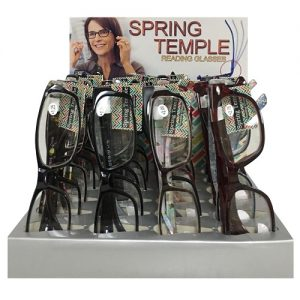 Spring Temple Reading Glasses Asst
