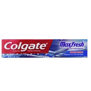 Colgate Max Fresh 7.6oz Cool Mint W-Brea