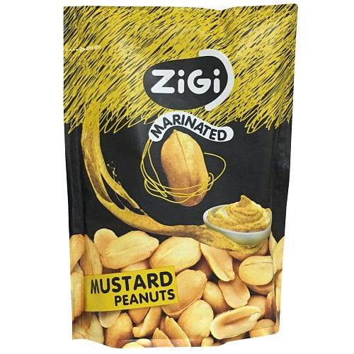 Zigi Marinated Mustard Peanuts 70g