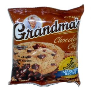 Grandmas Big Cookie Choc Chip 2.5oz