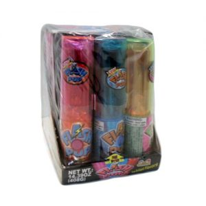 Flash Pop Candy W-Light Asst Flvrs