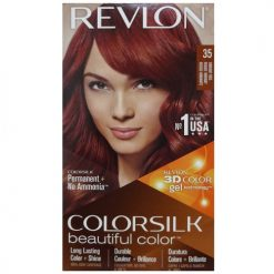 Revlon Color Silk #35 Vibrant Red