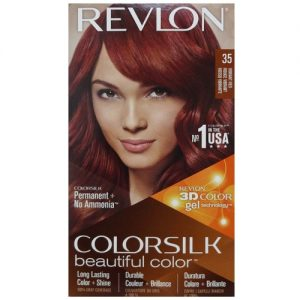 Revlon Color Silk #35 Vibrant Red