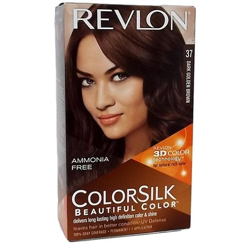 Revlon Color Silk #37 Dark Gldn Brown