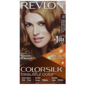 Revlon Color Silk #57 Lghtst Gldn Brown