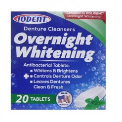 Iodent Overnight Whitening 20 Tablets