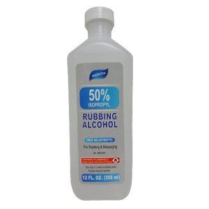 Maxim Rubbing Alcohol 50% 12oz