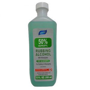 Maxim Rubbing Alcohol Green 50% 12oz