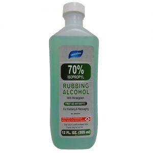 Maxim Rubbing Alcohol Green 70% 12oz