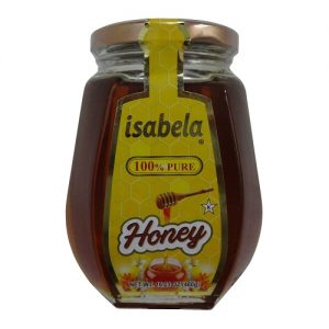 Isabela Pure Honey 460g Octagon Jar