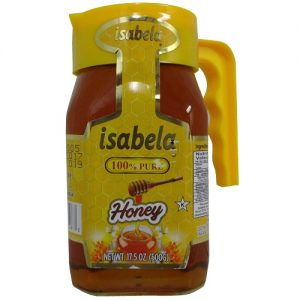 Isabela Pure Honey 500g W-Handle