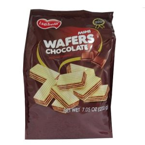 Isabela Mini Wafers Chocolate 200gr