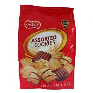 Isabela Assorted Cookies 250gr