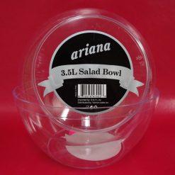 Ariana Salad Bowl 3.5 Ltrs Clear