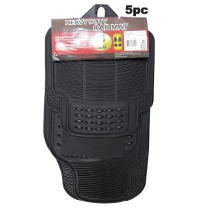 Car Mat 5pc Heavy Duty