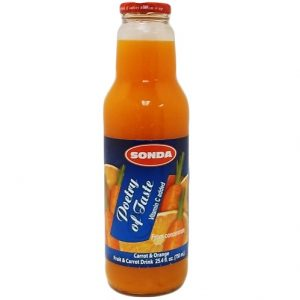 Sonda Juice 25.4oz Orange AND Carrot