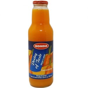 Sonda Juice 25.36oz Mango AND Carrot