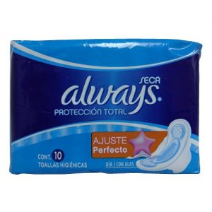 Always Maxi Pads 10ct Normal-Active