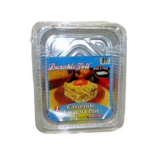 D. Foil Casserole Lasagna Pan W-Lid 1pc