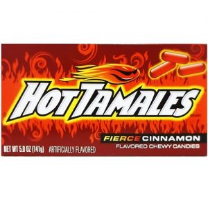 Hot Tamales Cinnamon Candy 5oz Box