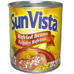 Sun Vista Pinto Beans 31oz Refried