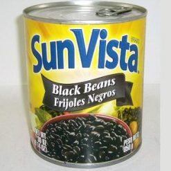 Sun Vista Black Beans 30oz Whole