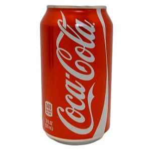Coca Cola Soda 12oz Can