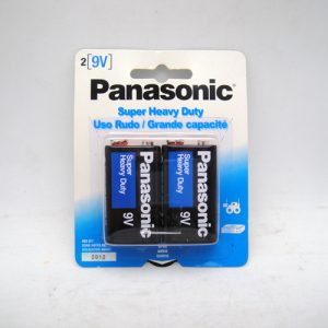 Panasonic Batteries 9 Volt 2pk