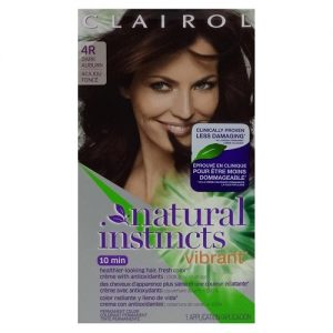 Clairol Hair Color #4R Dark Auburn