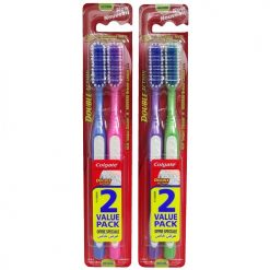 Colgate Toothbrushes 2pc Md Dbl Action