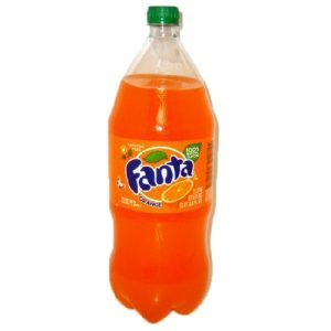 Fanta Soda 2 Ltrs Orange + CRV