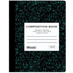 Composition Notebook Quad Ruled 100 Shee