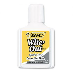 Bic White-Out .71oz Quick Dry