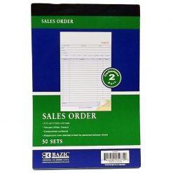 Sales Order 50 Sets 2 Part Carbonless
