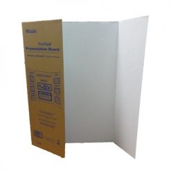 Tri-Fold Presentation Board 28 X 40in