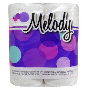 Medoly Bath Tissue 4pk 225ct 2ply
