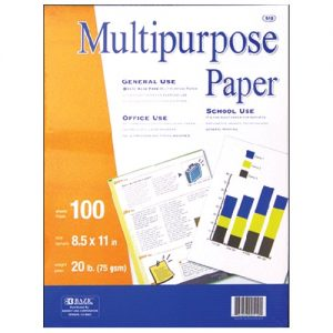 Multipurpose Paper 80ct 8.5 X 11in