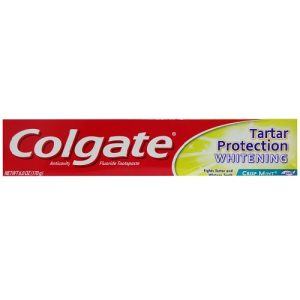 Colgate 6.0oz Whitening Crisp Mint