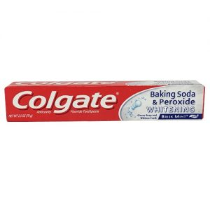 Colgate 2.5oz Baking Soda AND Perox Brisk