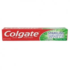 Colgate 2.5oz Sparkling White Mint Zing