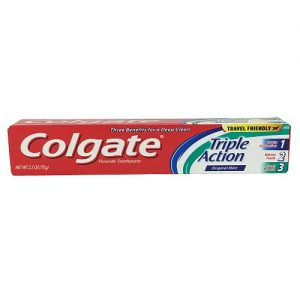 Colgate 2.5oz Triple Action Original Min