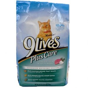 9 Lives 3.15 Lbs Plus Care Cat Food