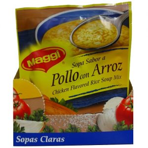 Maggi Soup Chicken And Rice 2.11oz
