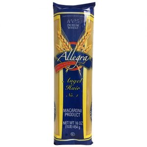 Allegra Pasta 1 Lb Angel Hair