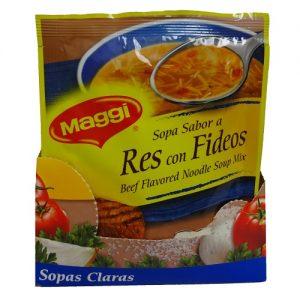Maggi Soup Beef Noodles 2.11oz