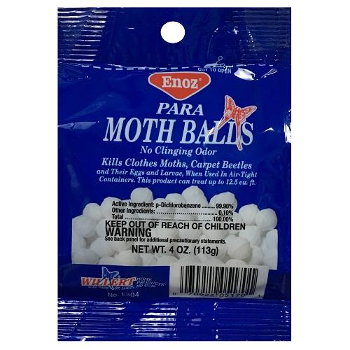 Enoz Para Moth Balls 4oz