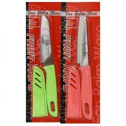 Fruit Knife W-Cover Asst Clrs