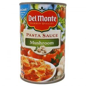 Del Monte Pasta Sauce Mshrm 24oz