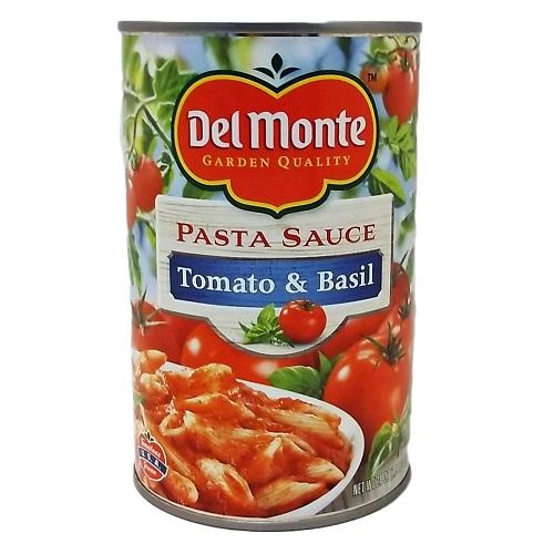 Del Monte Pasta Sauce Tom-Basil 24oz