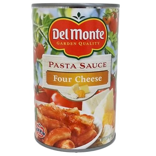 Del Monte Pasta Sauce 4 Cheese 24oz